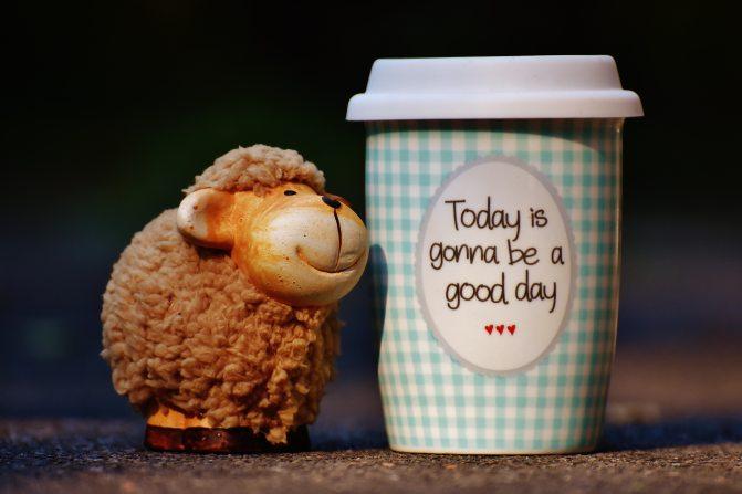 Cheerful coffee